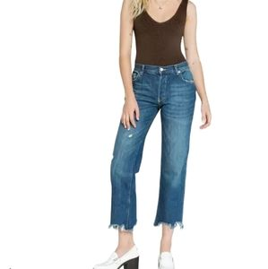 We The Free People Maggie ripped straight Jean …